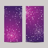 Set of vertical banners.