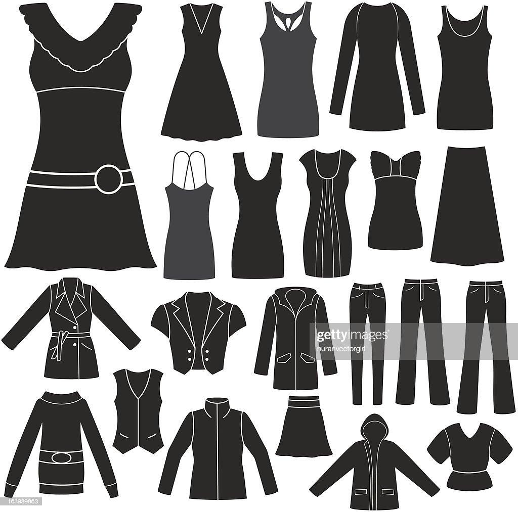 Set of Women's Clothing.