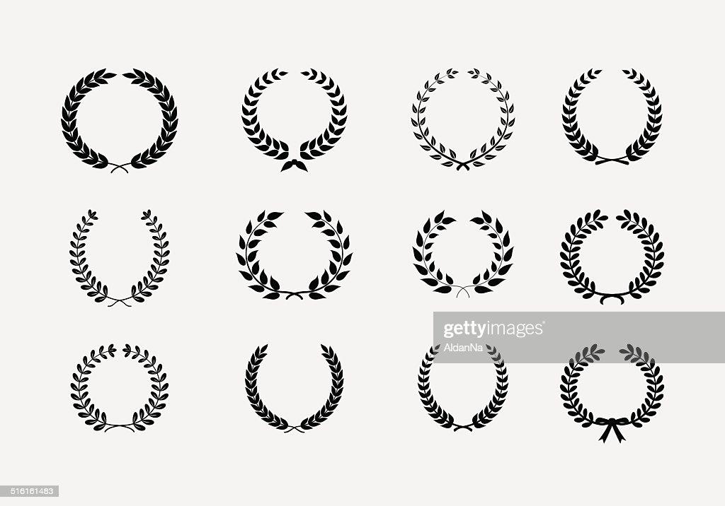 Set of wreaths