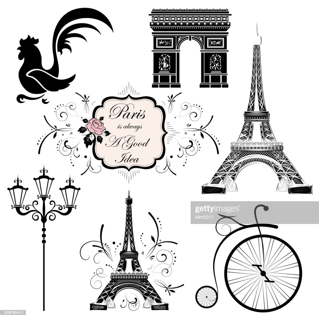 Set on the theme of France