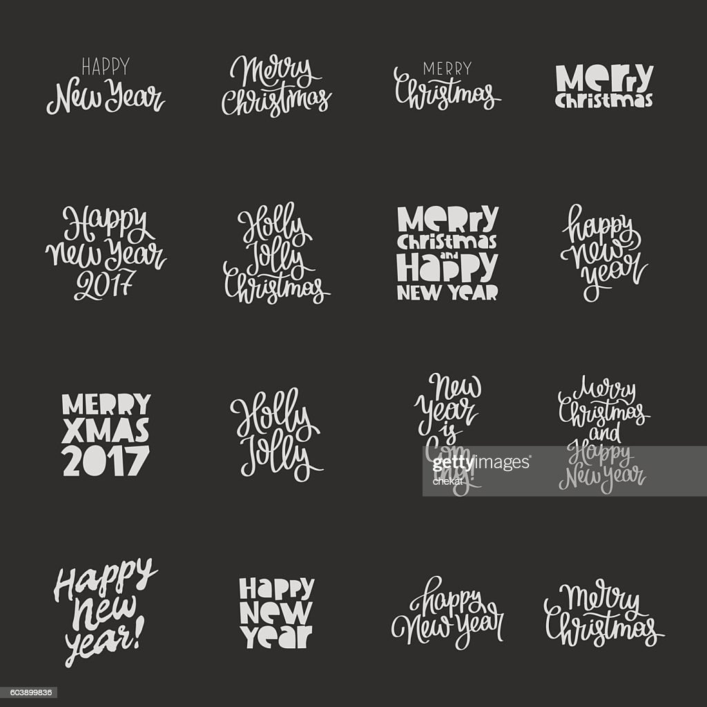 Set quotes about New Year