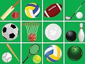 Set Sports Equipment