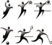 Set sports icon
