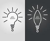 Set the stylized lamp