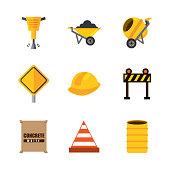 set tools construction equipment supplies