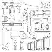Set tools for repair