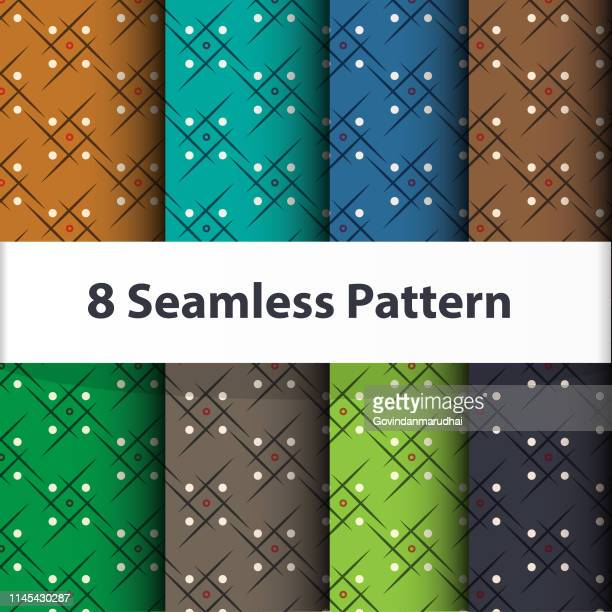 set vector of seamless patterns