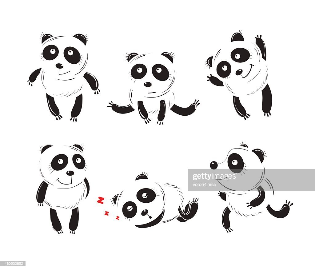 Set with pandas. : Vektorgrafik