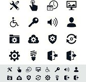 Setting icon set - simplicity theme