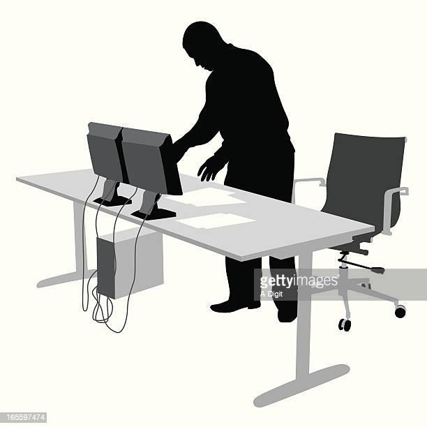 Setting Up Vector Silhouette
