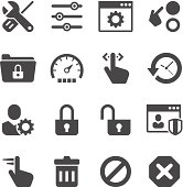 Settings Icon Set | Unique Series
