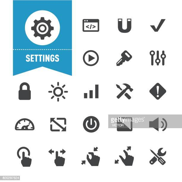 Settings Icons - Special Series