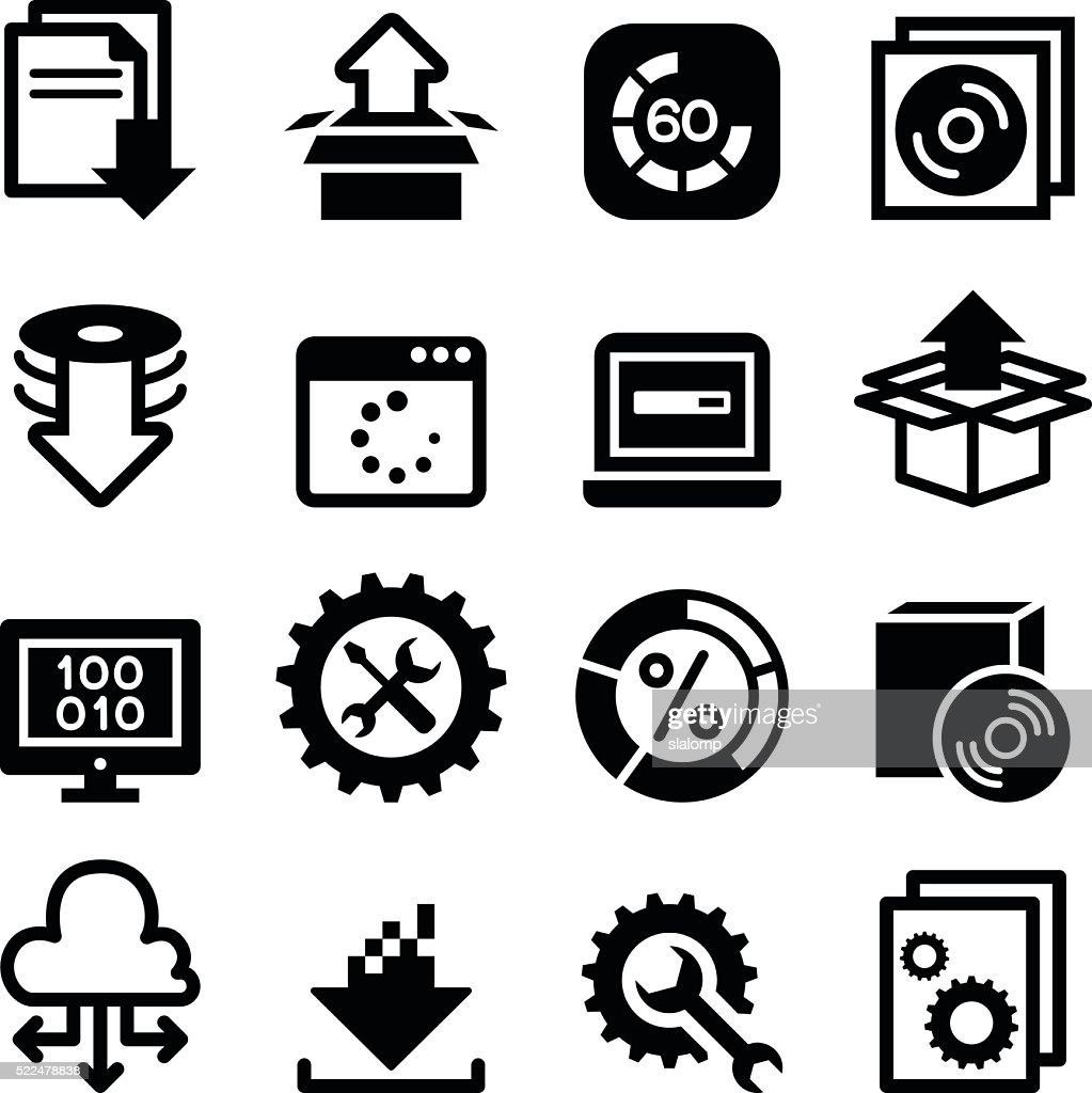 Setup , configuration, maintenance & Installation icon