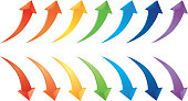 Seven colors of the arrow