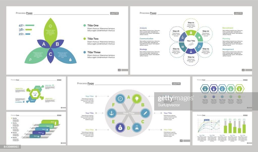 Seven Manage Slide Templates Set