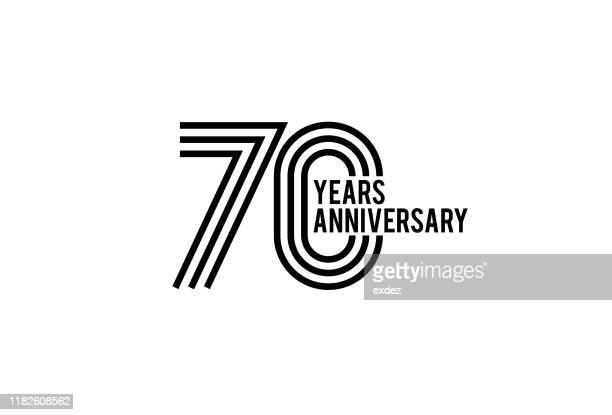 70周年記念デザイン - 70周年点のイラスト素材/クリップアート素材/マンガ素材/アイコン素材