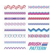 Several Line pattern.