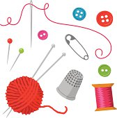 Sewing elements