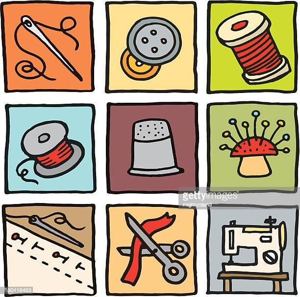 Ícones de Costura