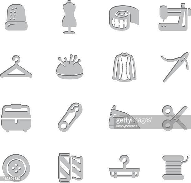 Impressão símbolos de Costura