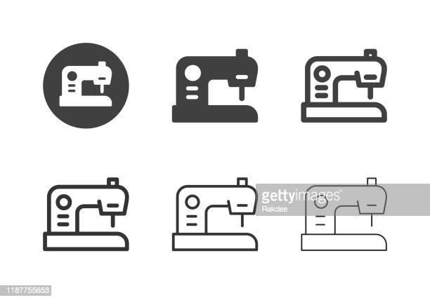 ミシンアイコン - マルチシリーズ - ミシン点のイラスト素材/クリップアート素材/マンガ素材/アイコン素材
