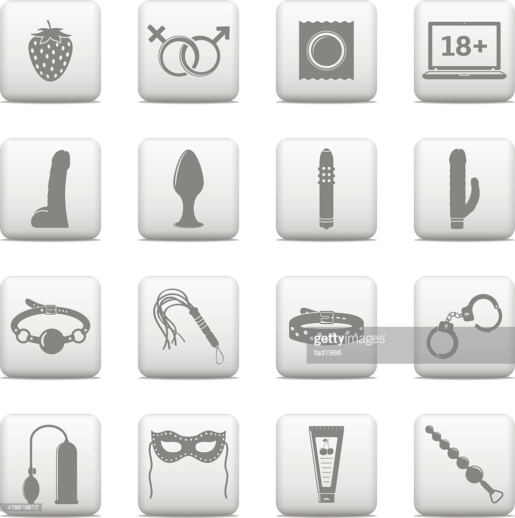Sex icons set