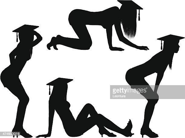セクシーな卒業生