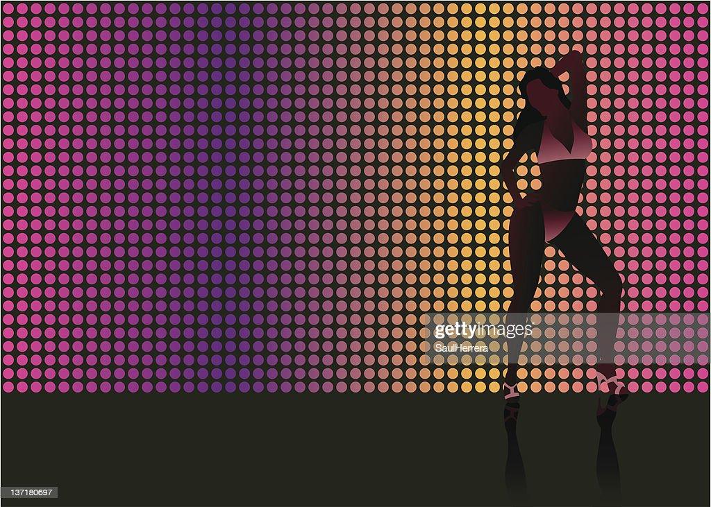 sexy light dancer