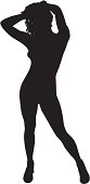 Sexy Woman Silhouette