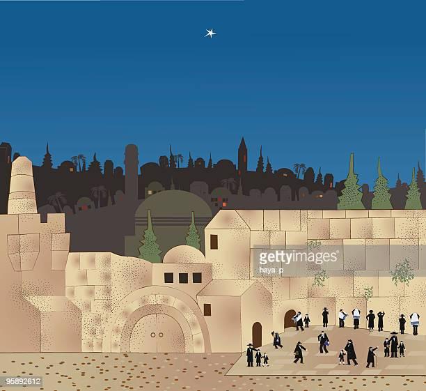 Shabbat In Jerusalem, the Wailing Wall