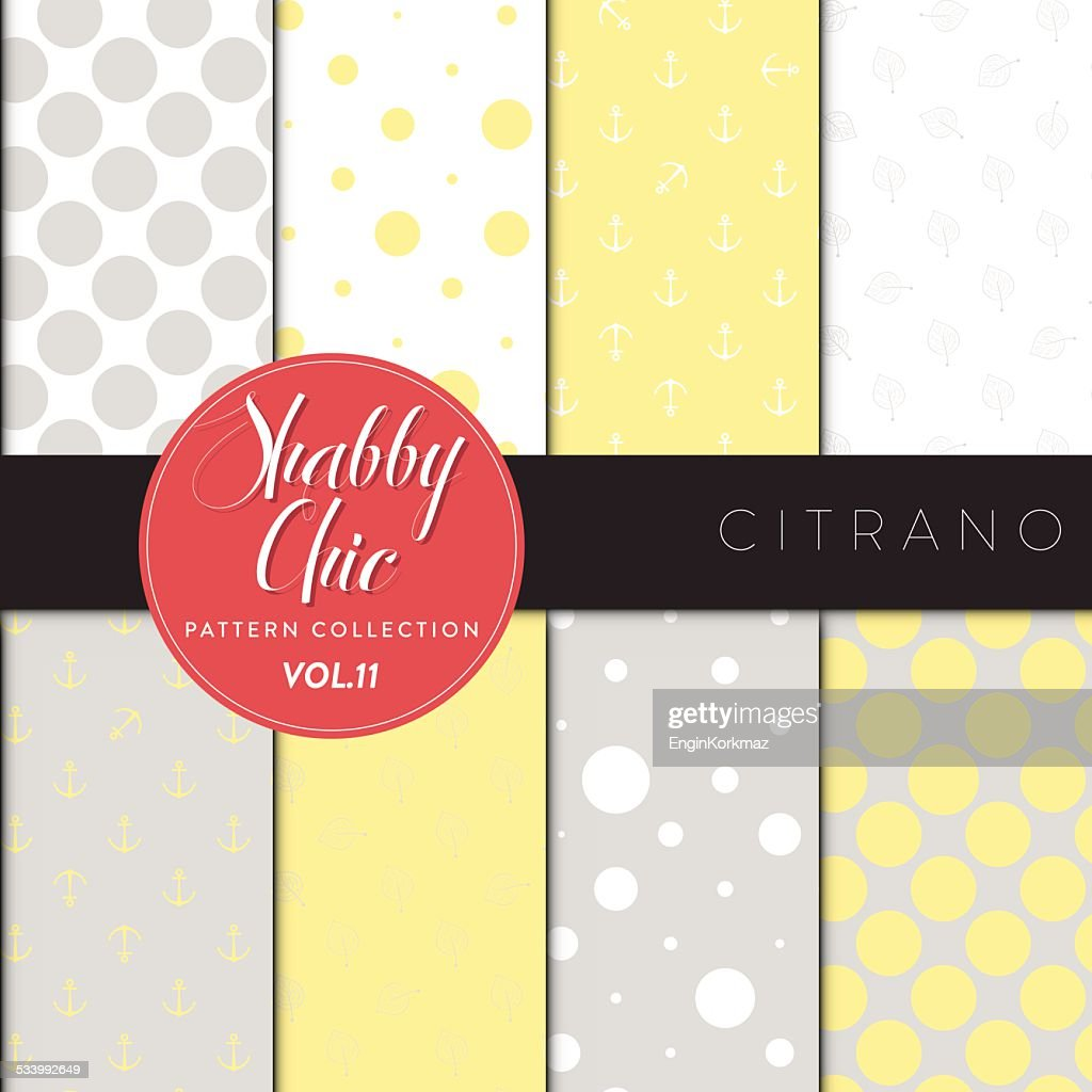 Shabby Chic Pattern Collection - Citrano