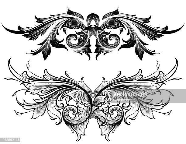 Shaded Acanthus Set