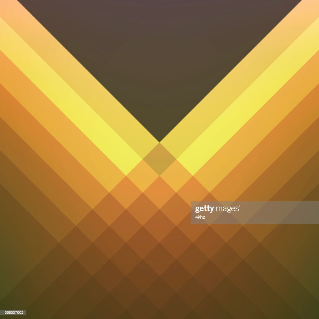 Shades Of Orange Modern Vector Abstract Background