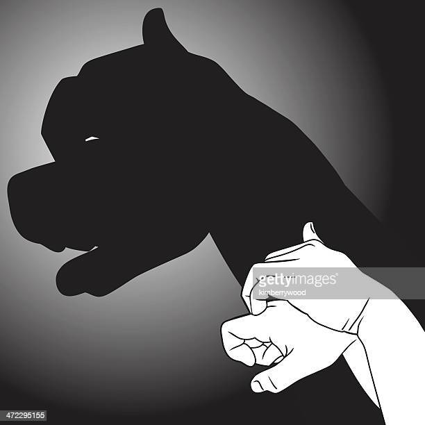 Shadow Puppet Puppy