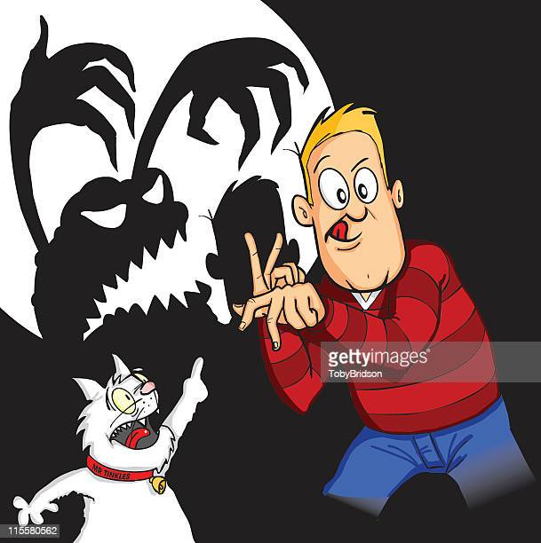 Shadow Puppet Terror & Mr Tinkles