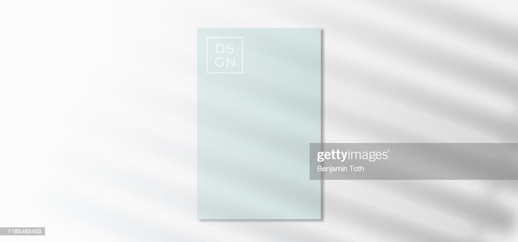 Efecto de silueta de sombra en la plantilla : Ilustración de stock