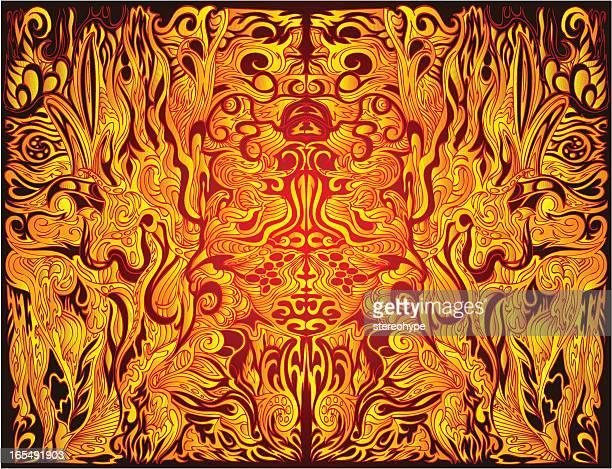 祈祷師トランス - 煉獄点のイラスト素材/クリップアート素材/マンガ素材/アイコン素材