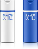 Shampoo bottle template