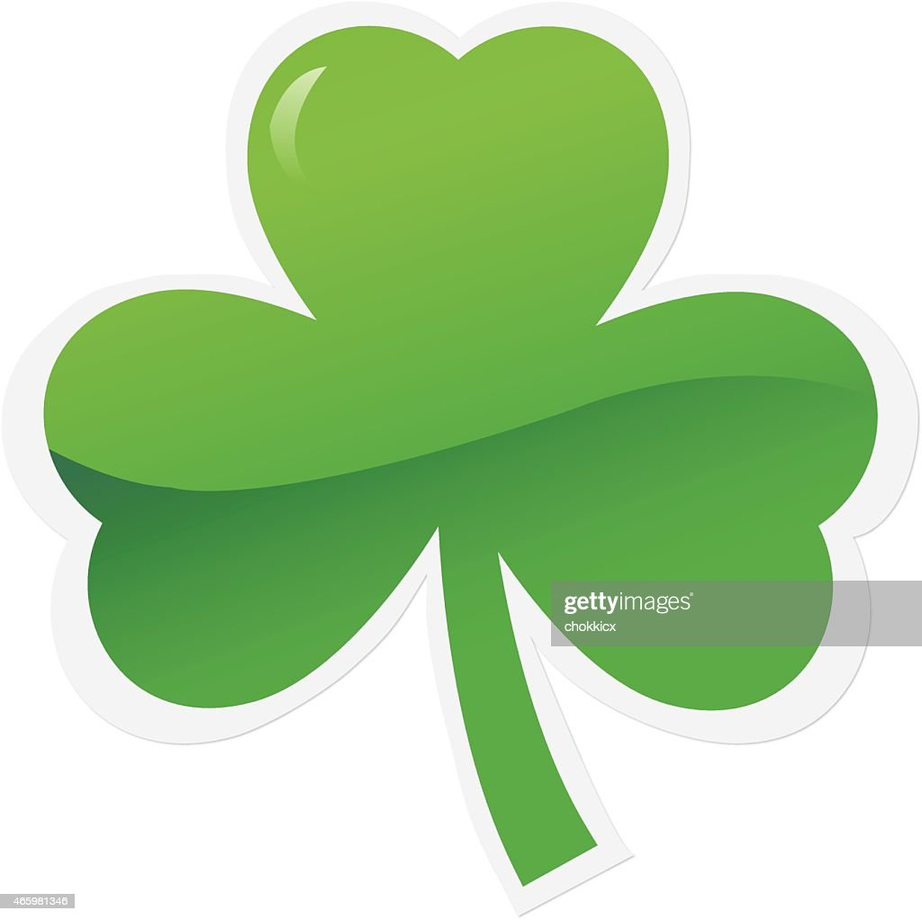 Shamrock Icon Or Symbol Vector Art Getty Images
