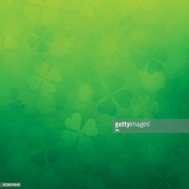 シャムロック聖パトリックの日の背景 - 三月点のイラスト素材/クリップアート素材/マンガ素材/アイコン素材