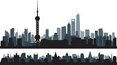 Shanghai (All Buildings are Complete and Moveable)