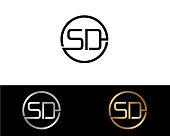 SD Shape Letter Design
