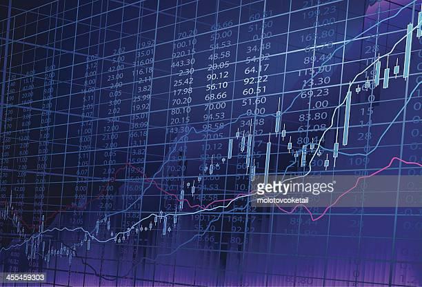 株市場 - 上がる点のイラスト素材/クリップアート素材/マンガ素材/アイコン素材