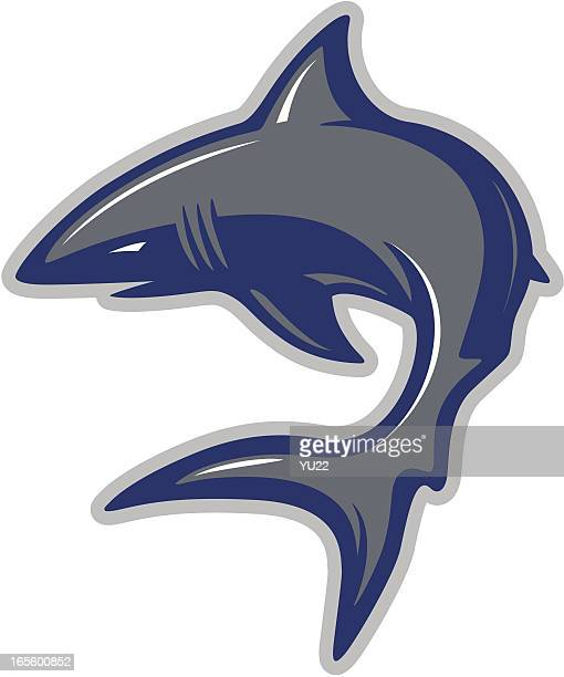 shark mascot - sharks stock illustrations