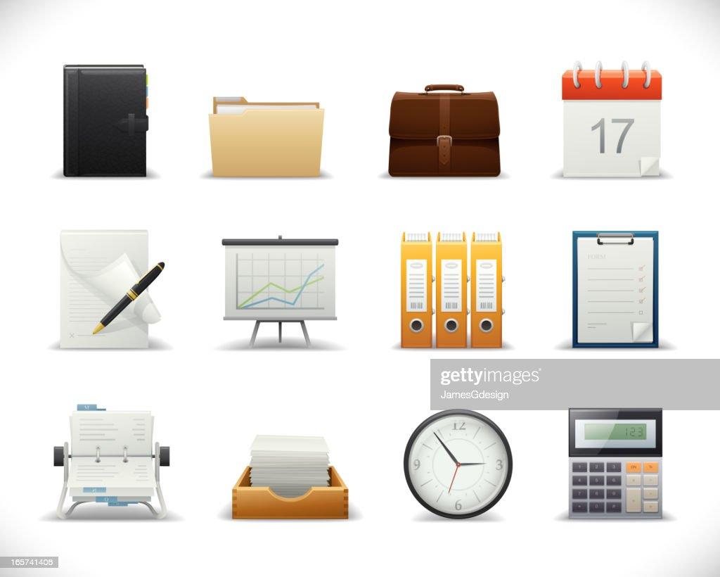 Sharp Icons - Office : stock illustration