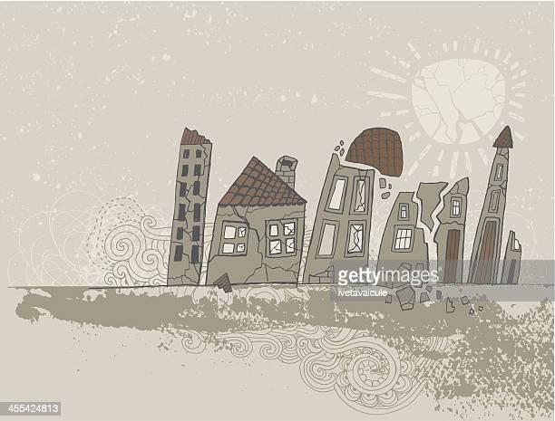 Shattered homes