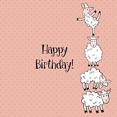 sheep birthday