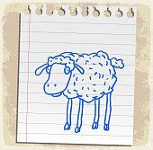 sheep cartoon illustration