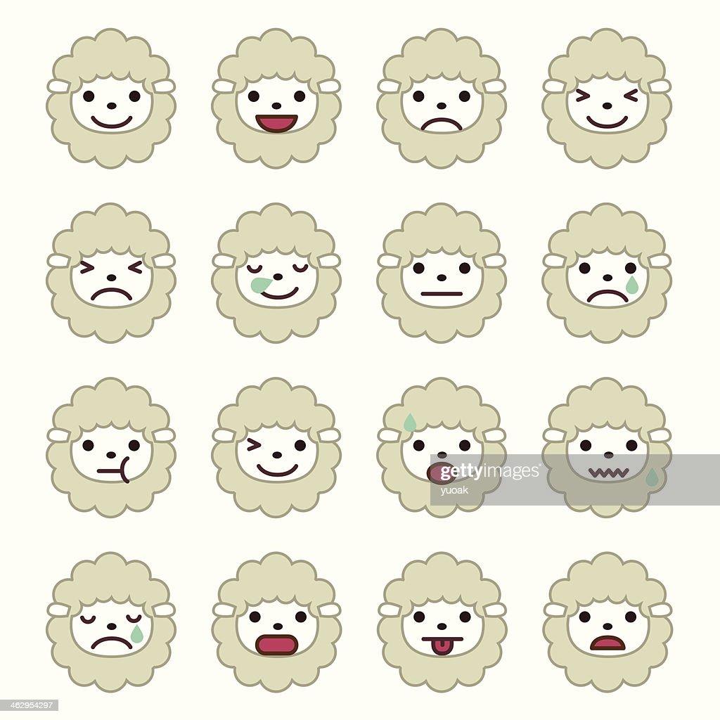 Sheep Emoticons
