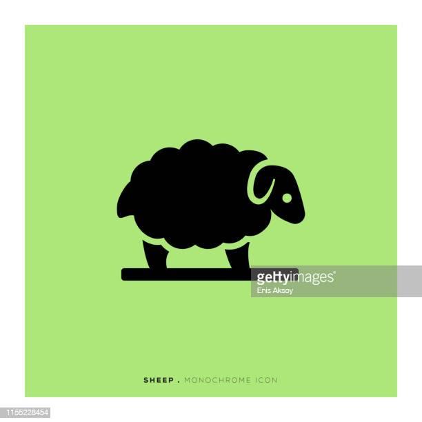 羊のアイコン - 羊点のイラスト素材/クリップアート素材/マンガ素材/アイコン素材